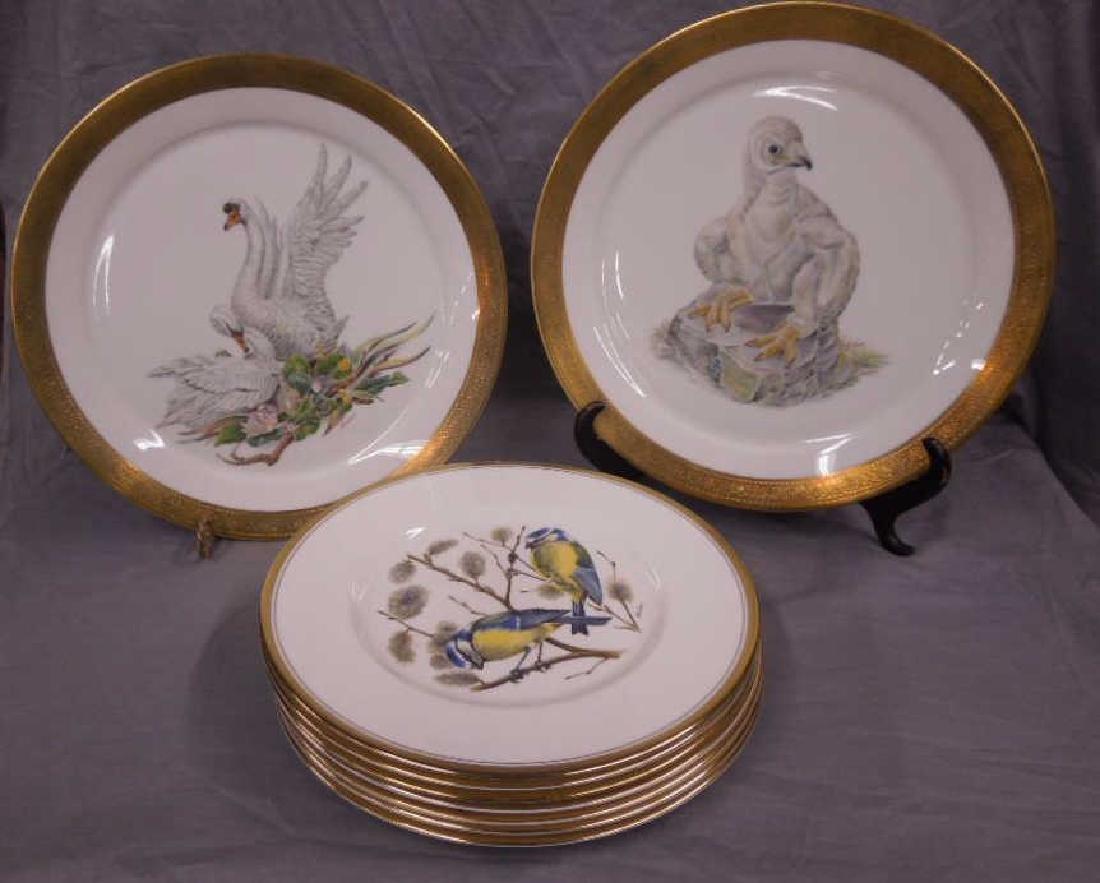 9 Boehm Bird Plates