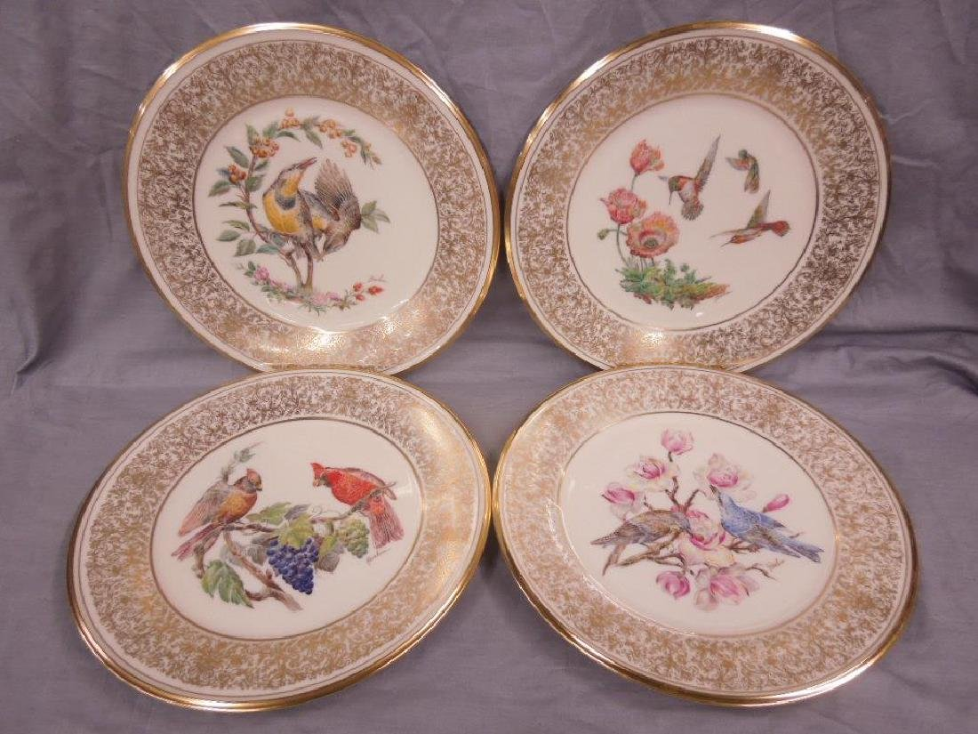Set of 6 Lenox Boehm Bird Plates