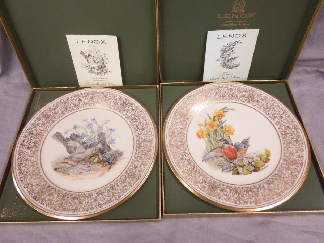 Set of 6 Lenox Boehm Bird Plates - 3