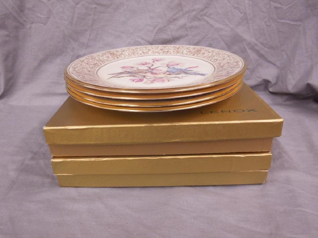 Set of 6 Lenox Boehm Bird Plates - 4