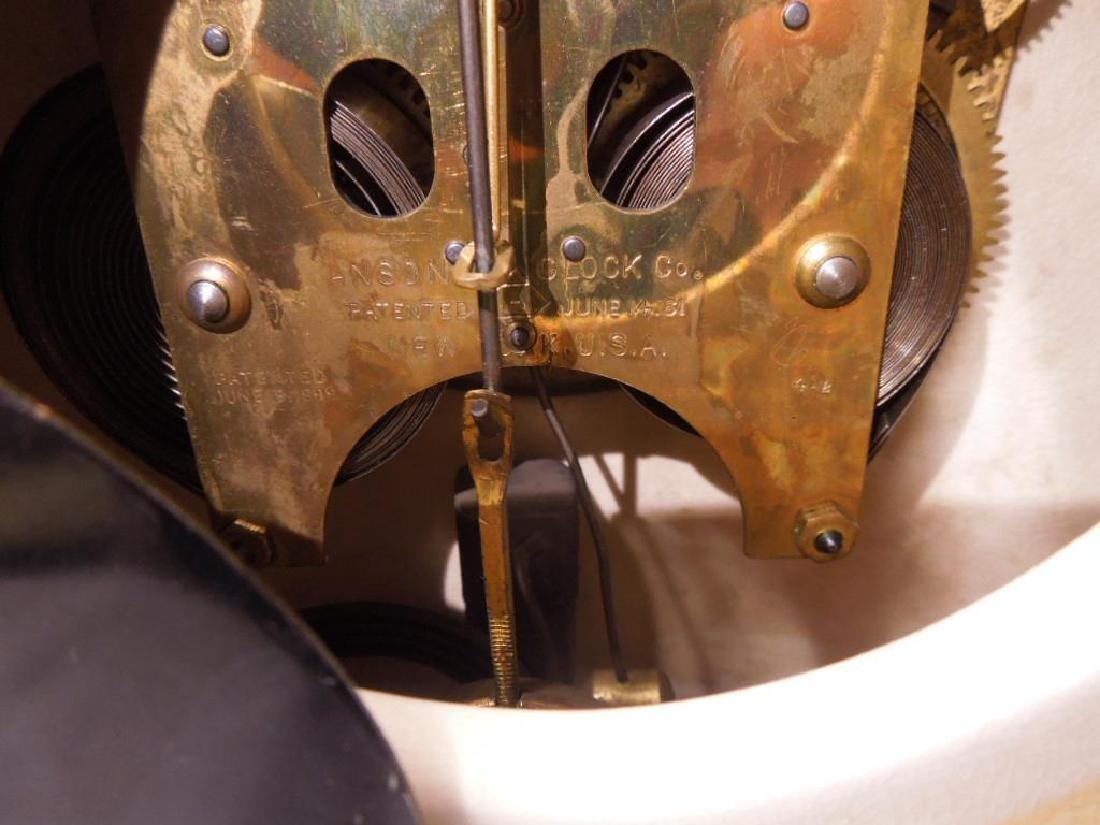 Royal Bonn Porcelain Mantle Clock - 6