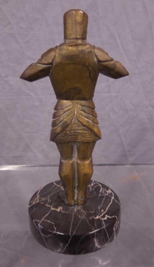 Bronze Sculpture of a Knight - 2