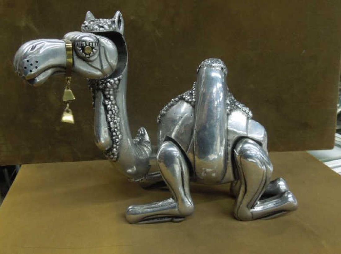 Frank Meisler Kneeling Camel Sculpture
