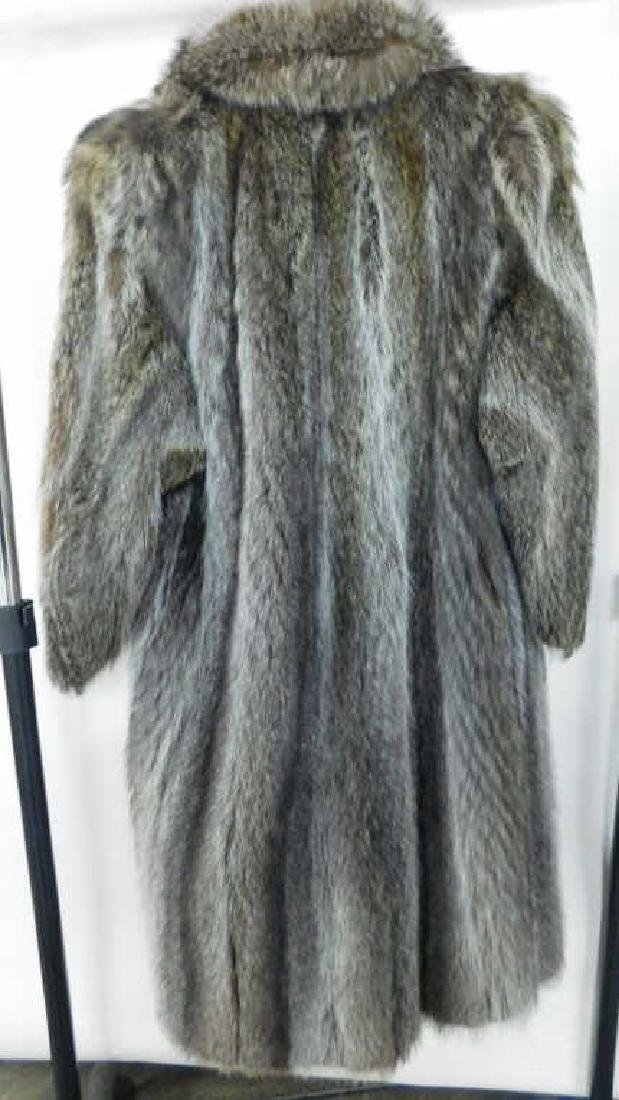 Full Length Raccoon Coat - 3