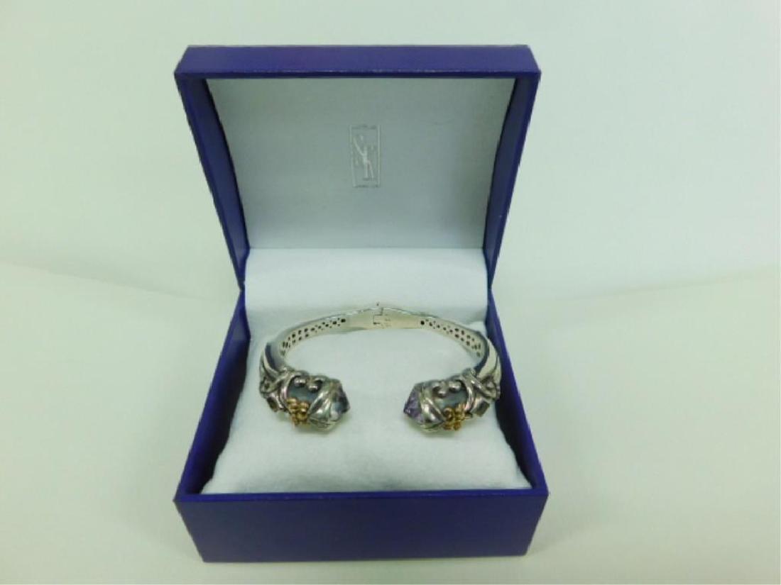 Scott Kay 18K & 925 Bangle Bracelet