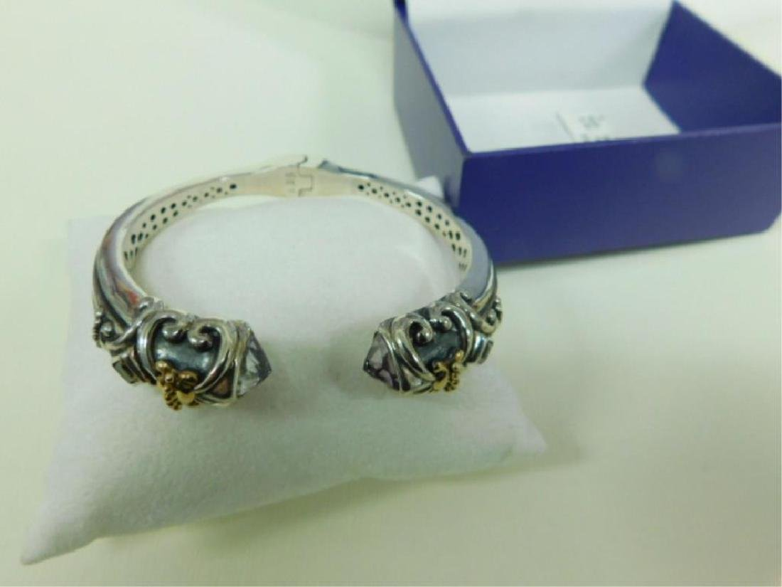 Scott Kay 18K & 925 Bangle Bracelet - 2