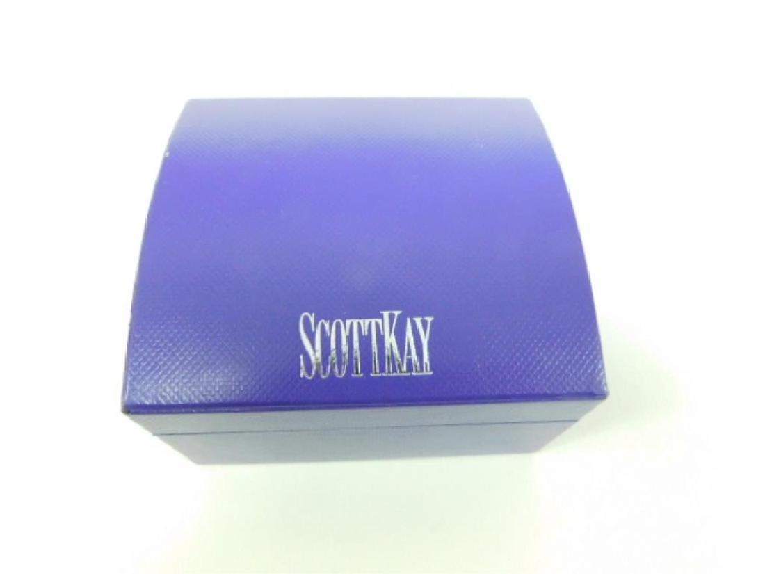 Scott Kay 18K & 925 Bangle Bracelet - 3