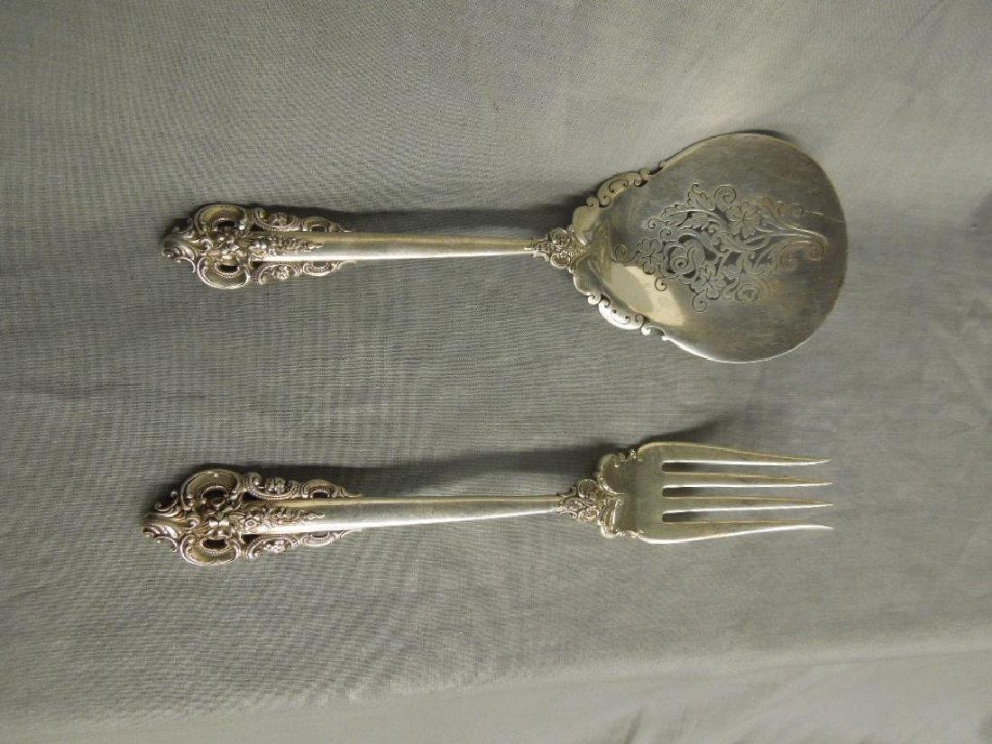 Wallace Sterling Fork & Spoon