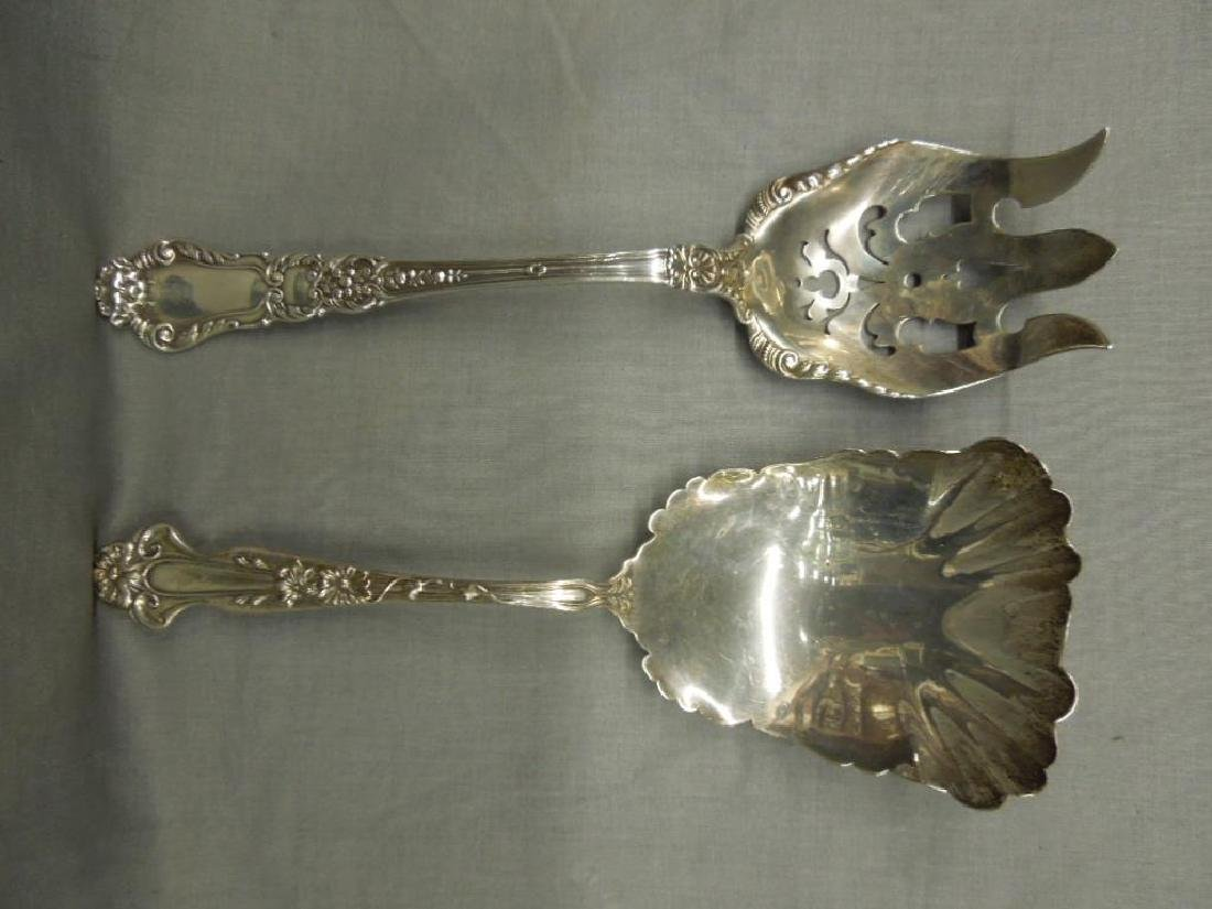 2 Sterling Serving Flatware