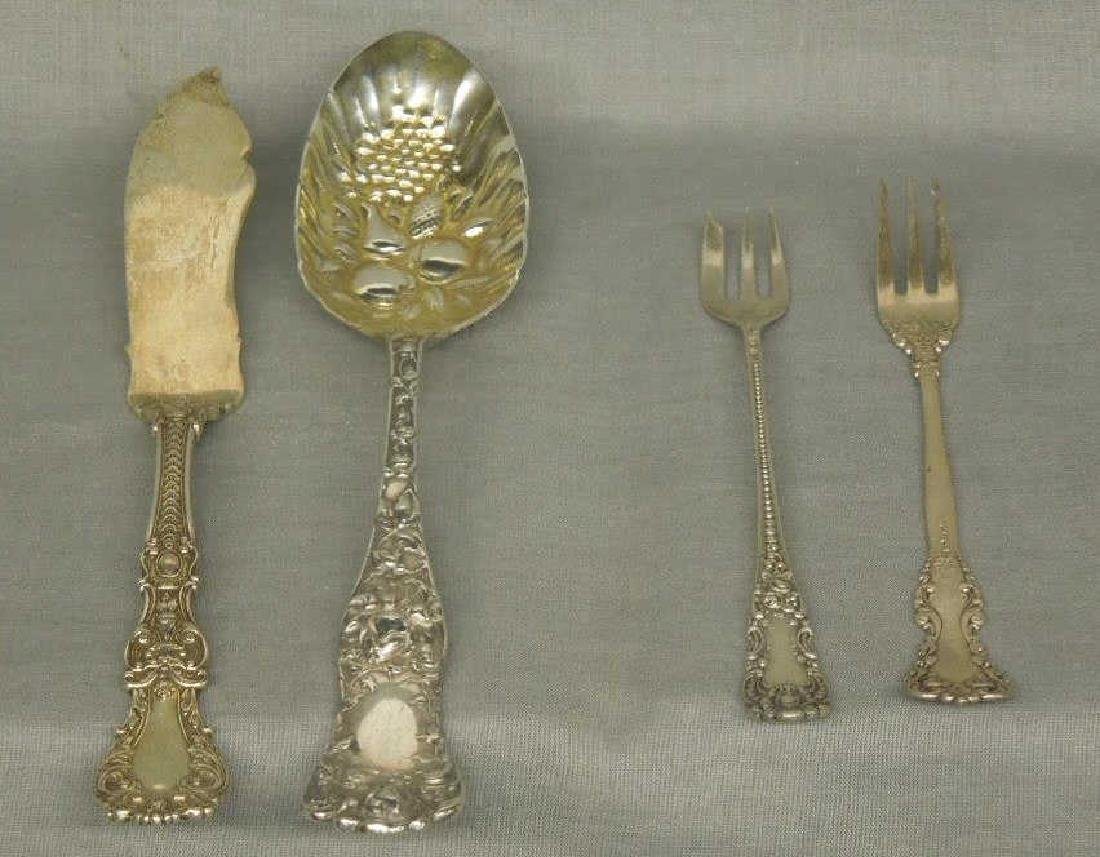4 Pcs Sterling Serving Flatware