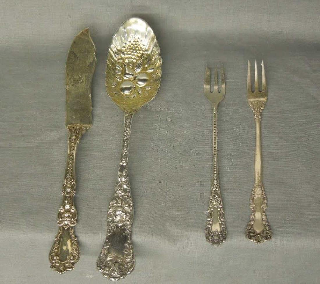 4 Pcs Sterling Serving Flatware - 2