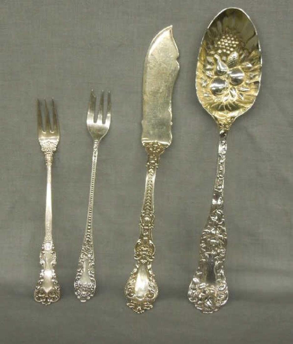 4 Pcs Sterling Serving Flatware - 3