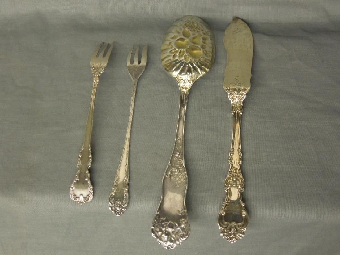 4 Pcs Sterling Serving Flatware - 5