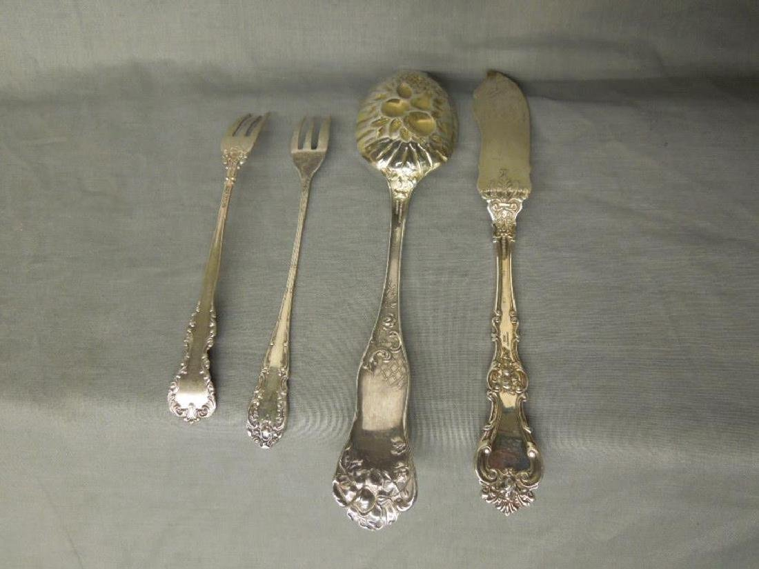 4 Pcs Sterling Serving Flatware - 6