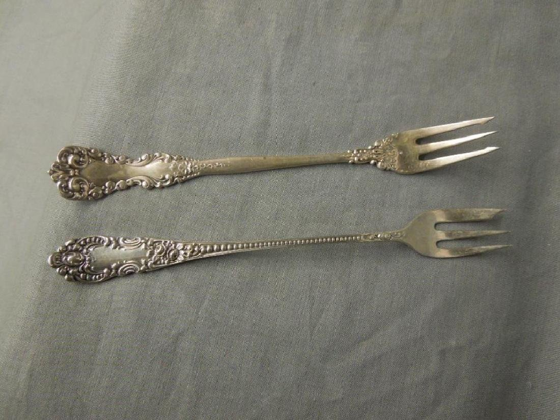 4 Pcs Sterling Serving Flatware - 8