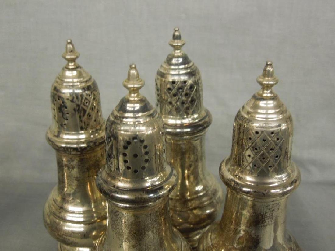 5 Sterling Salt Shakers - 2