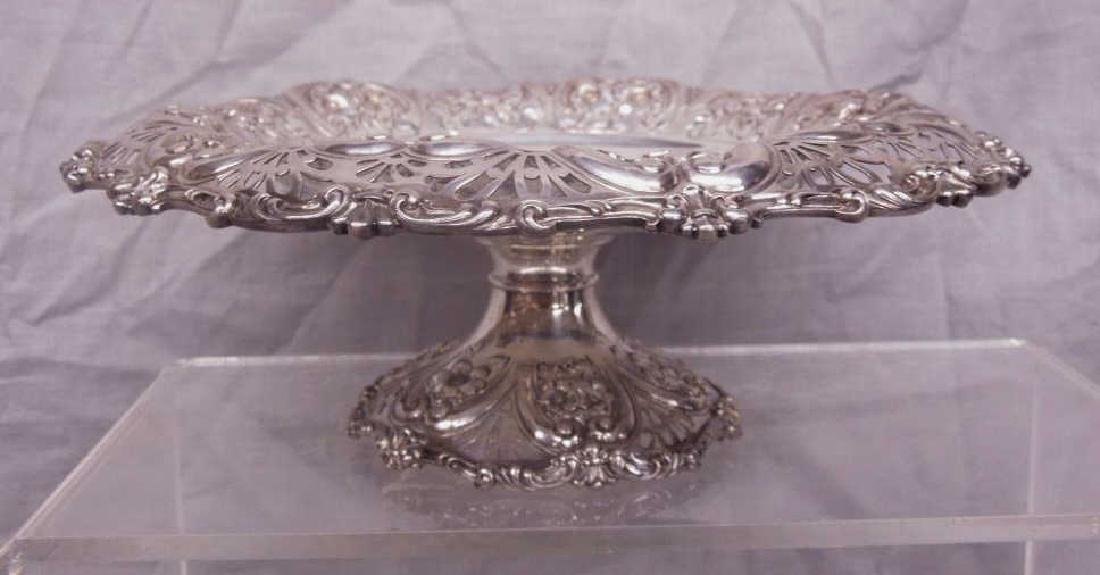 Fancy Sterling Compote