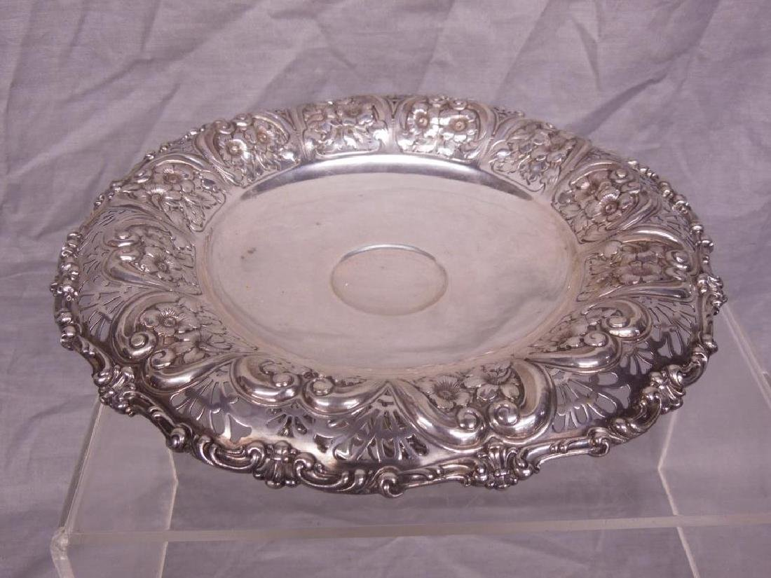 Fancy Sterling Compote - 2
