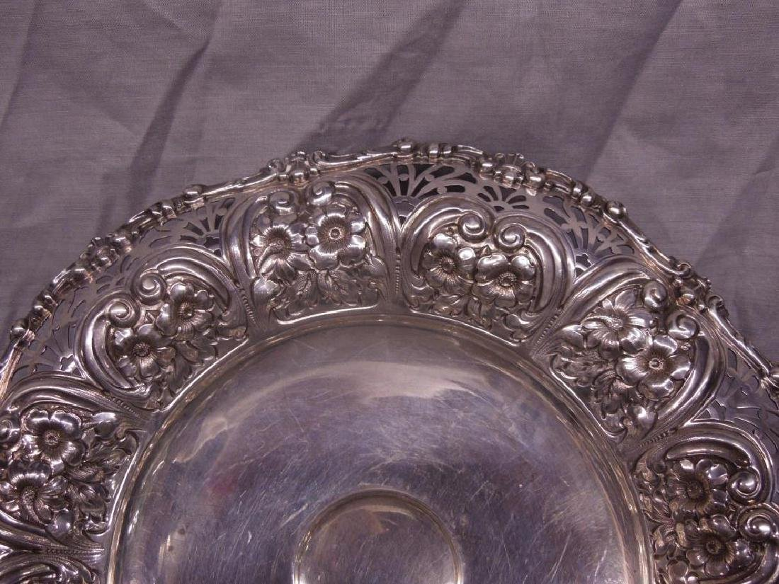 Fancy Sterling Compote - 3