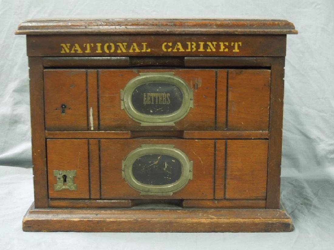 Victorian Letter Cabinet