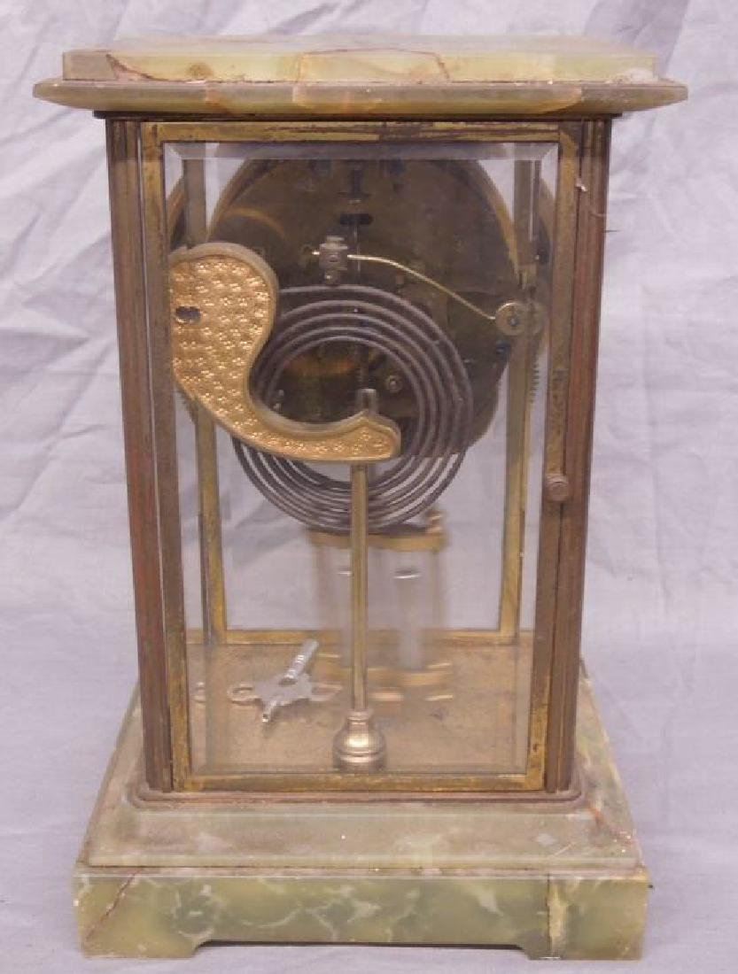 Ansonia Crystal Regulator Clock - 5