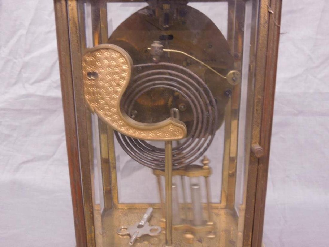 Ansonia Crystal Regulator Clock - 7