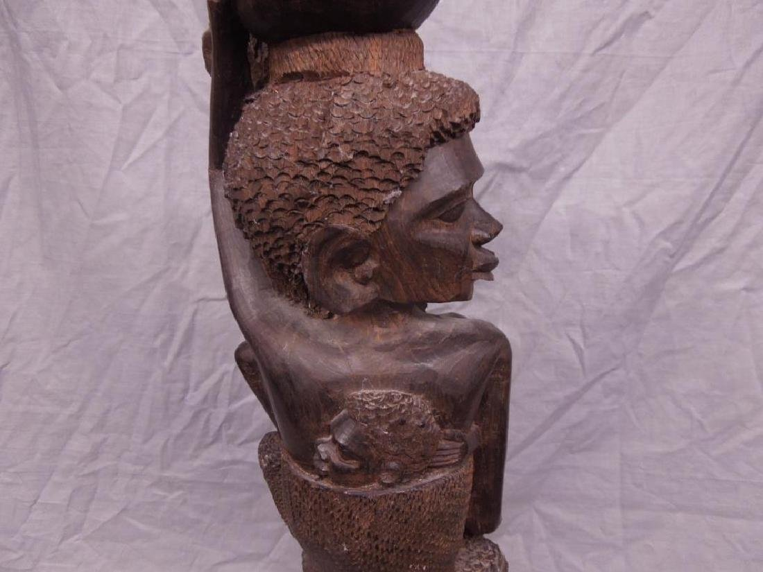 African Family Wood Carving - 5
