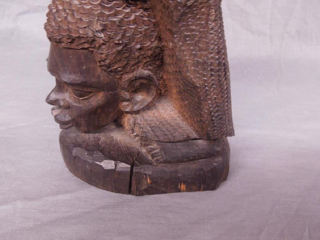 African Family Wood Carving - 7