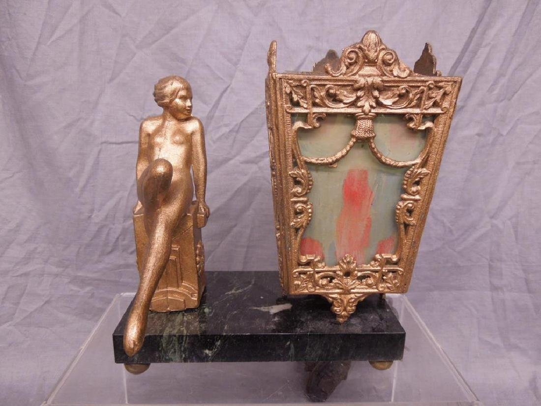Art Deco Figural Night Lamp