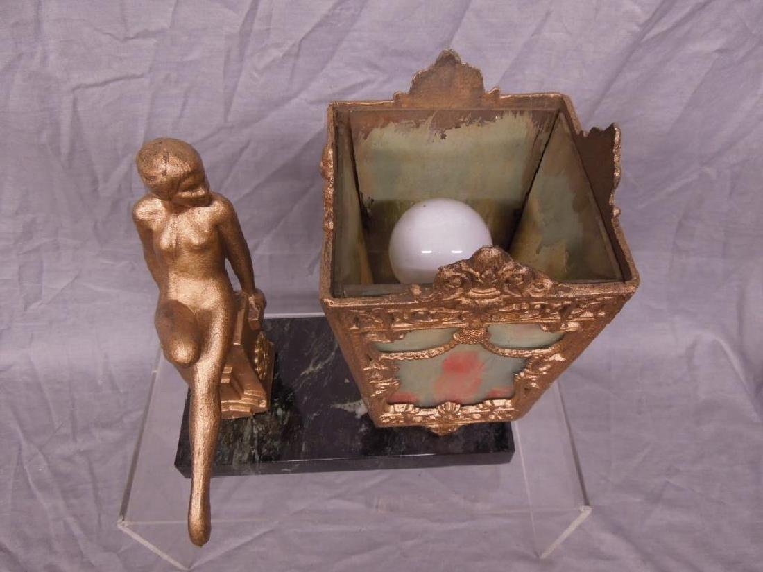 Art Deco Figural Night Lamp - 2
