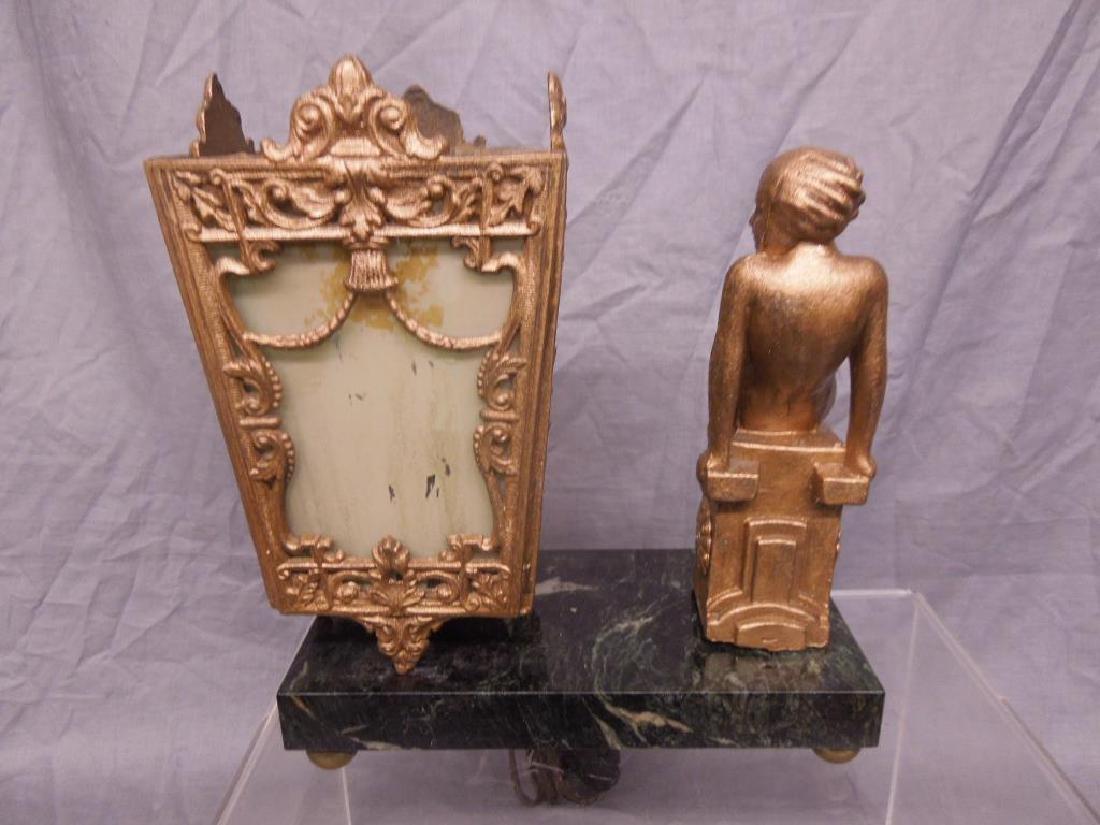 Art Deco Figural Night Lamp - 3