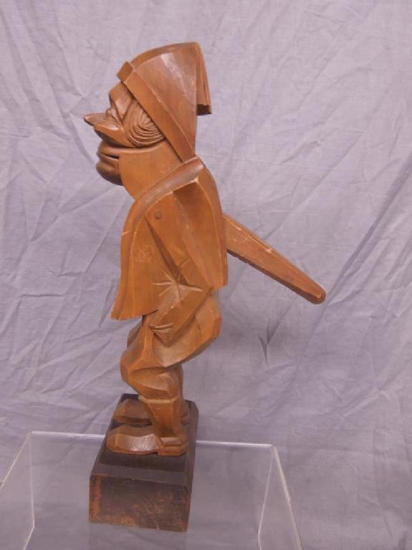 Black Forrest Style Figural Nut Cracker - 2