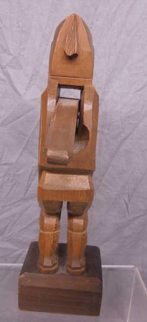 Black Forrest Style Figural Nut Cracker - 3