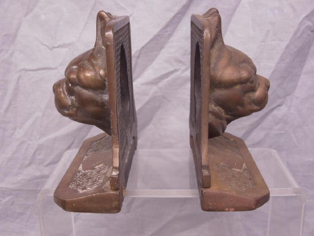 Pr of Bull Dog Bookends - 3