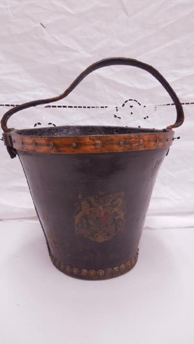 English 18th / 19th C. Fire Bucket