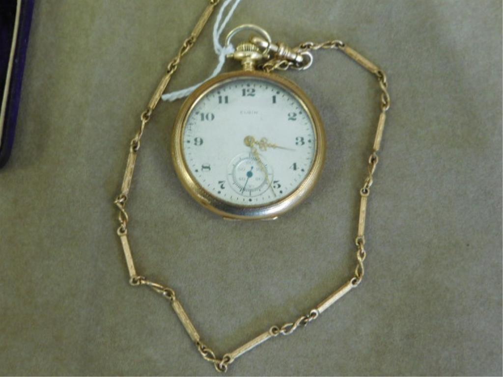 Gent's Gold Elgin Pocket Watch