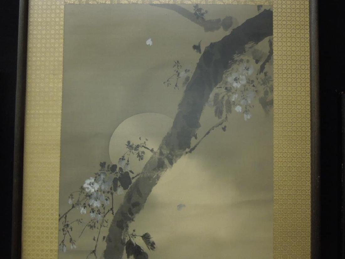Japanese Watercolor on Silk Scroll - 2