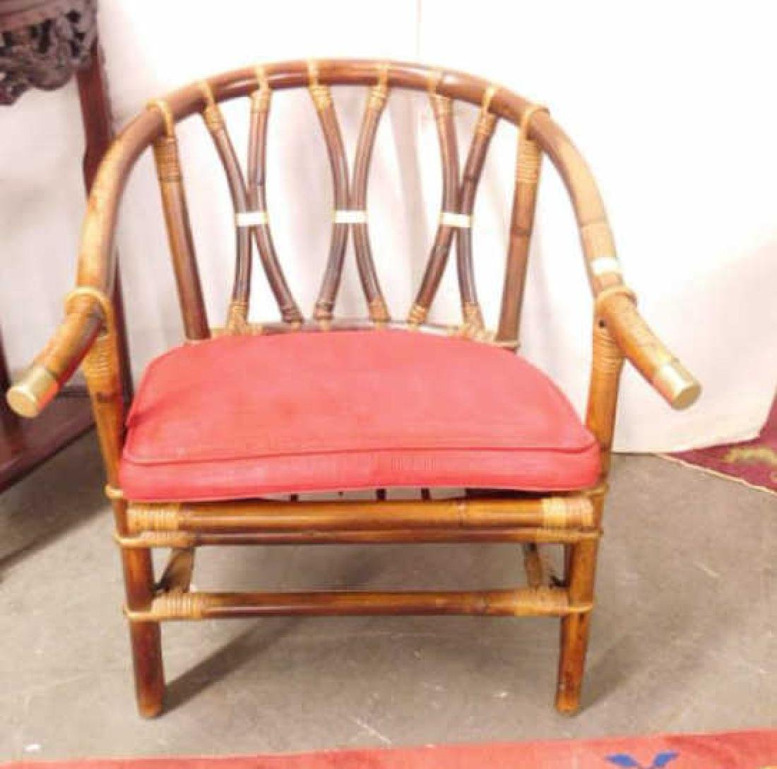 Bamboo Chinese Style Arm Chair - 2