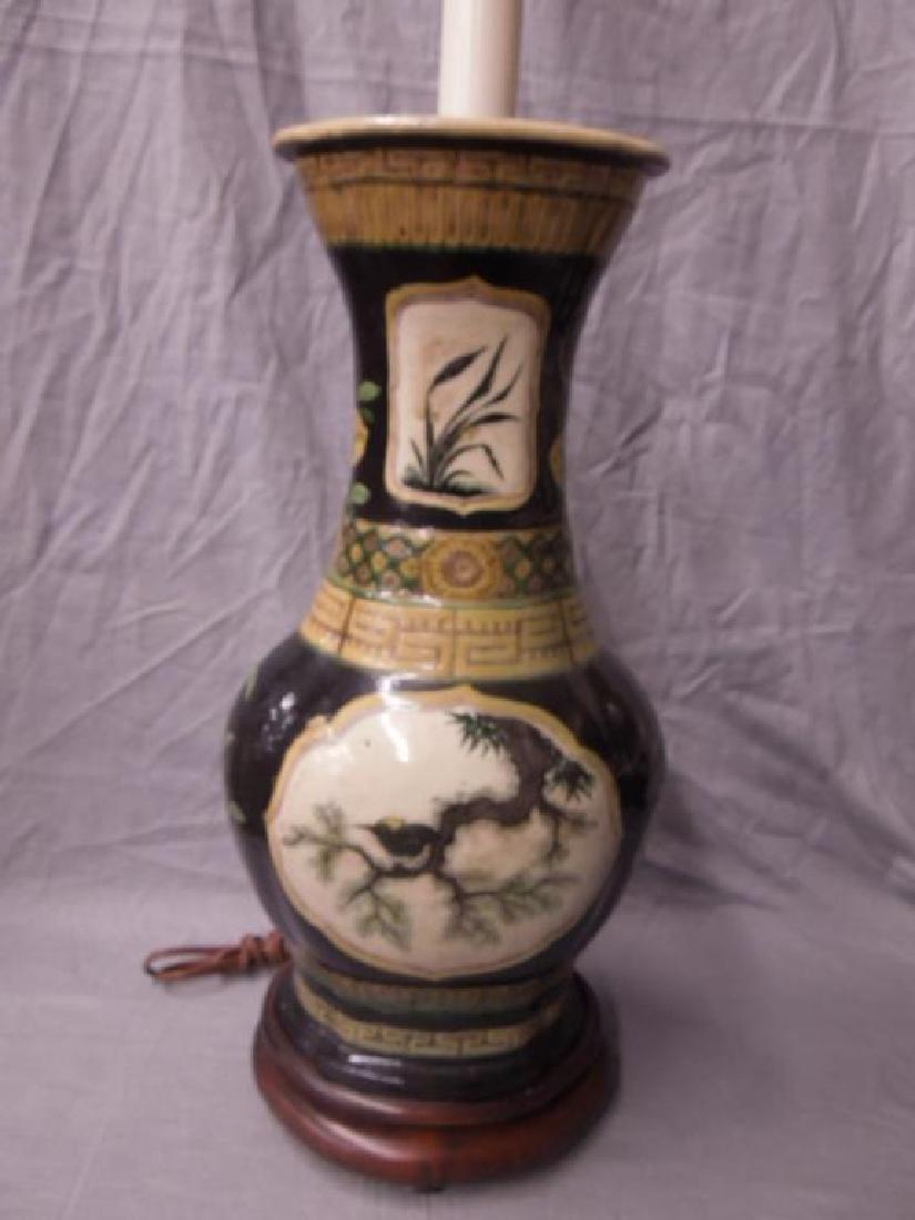 Chinese Porcelain Vase / Lamp