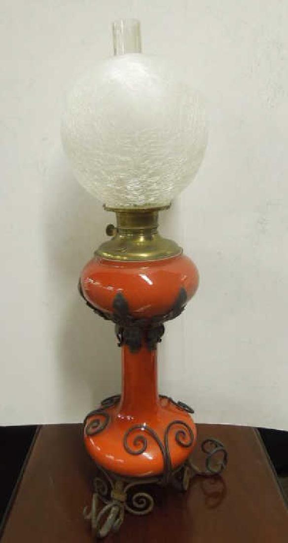 Victorian Banquet Lamp