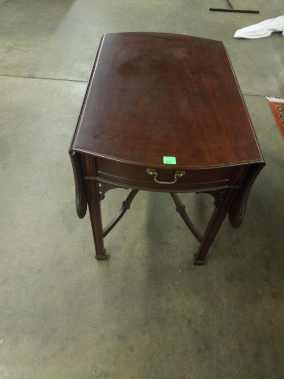 Chinese Chippendale Style Pembroke Table