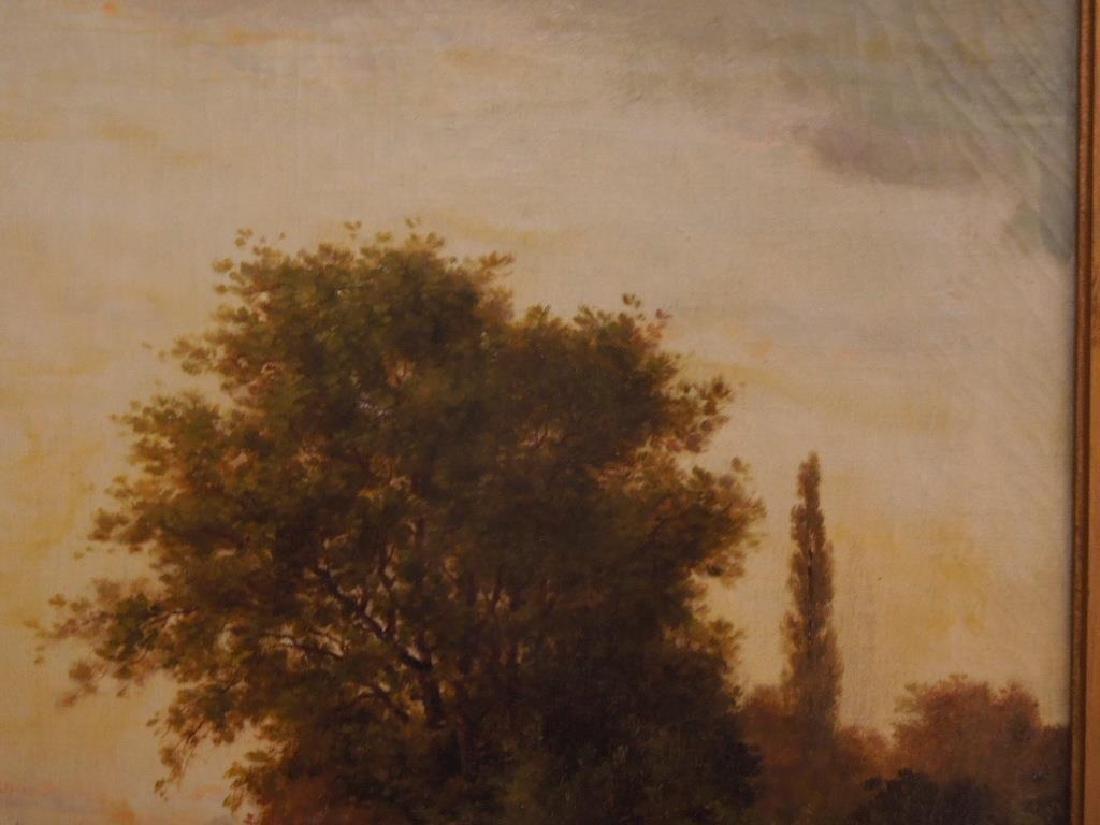 [Manner of] H.C. Delpy, o/c, River Landscape - 3