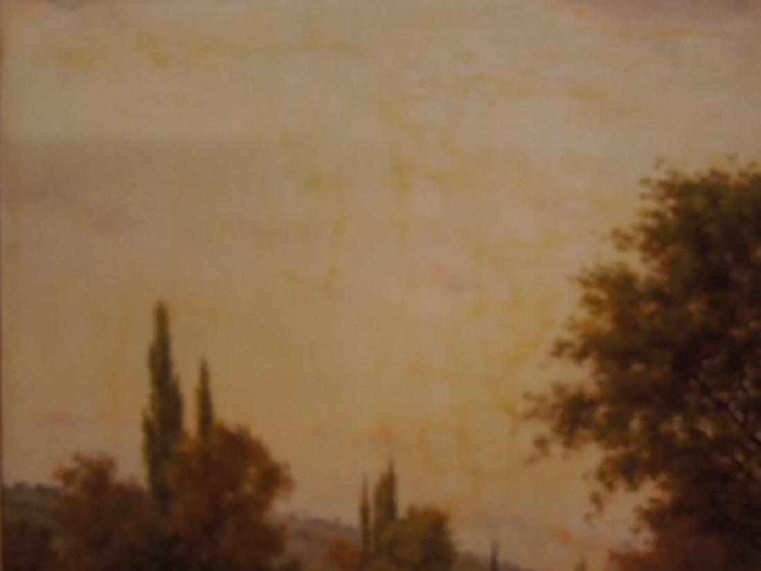 [Manner of] H.C. Delpy, o/c, River Landscape - 4