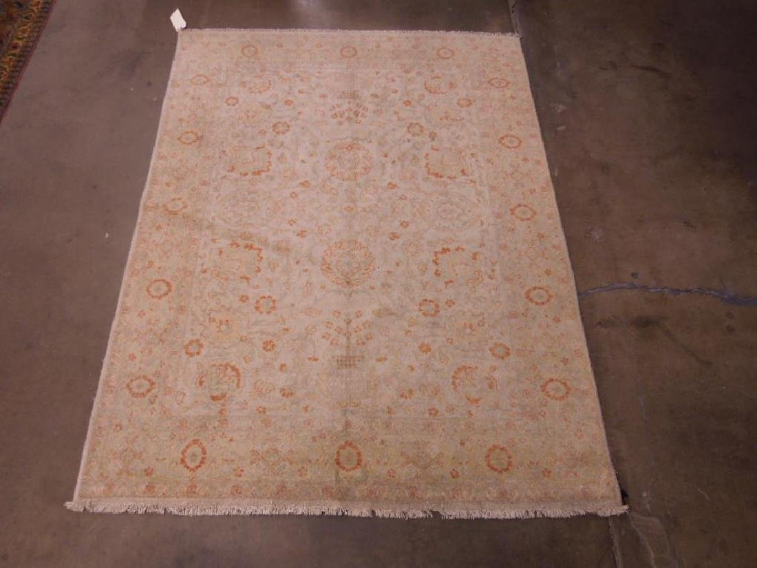 Antique Turkish Room-Size Carpet