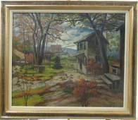 FC Kirk Oil on Canvas