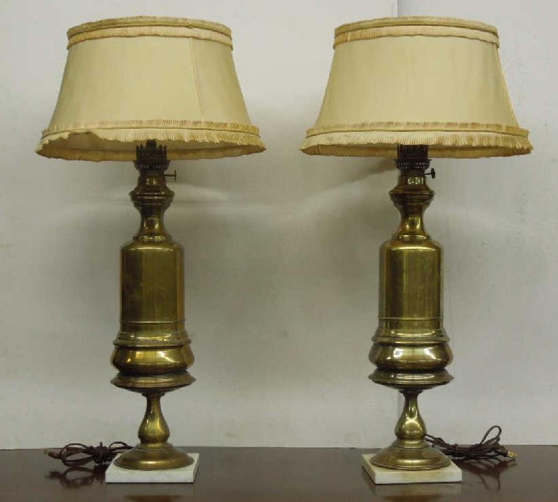 Pr Brass Fluid Lamps