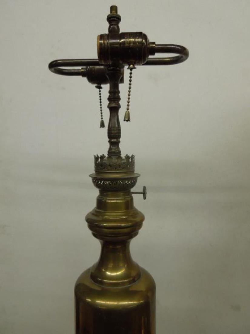 Pr Brass Fluid Lamps - 3