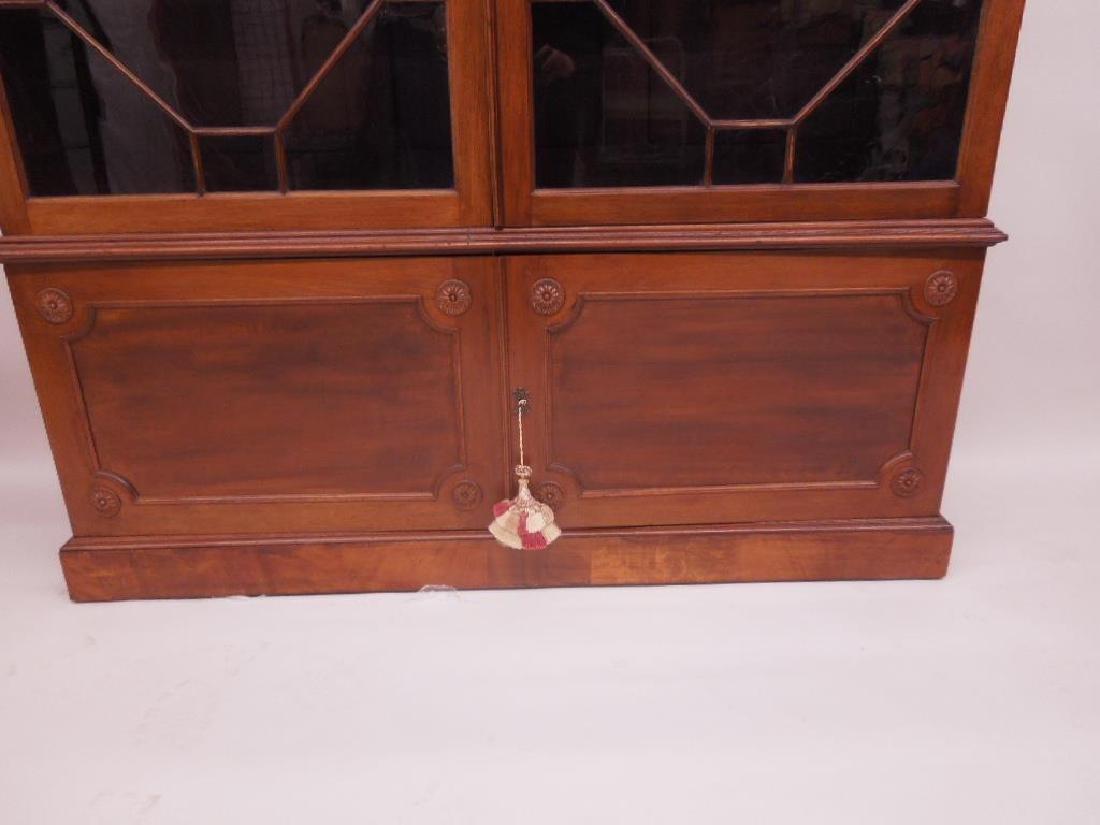 Antique Adam Neo Classical Bookcase / Cabinet - 4