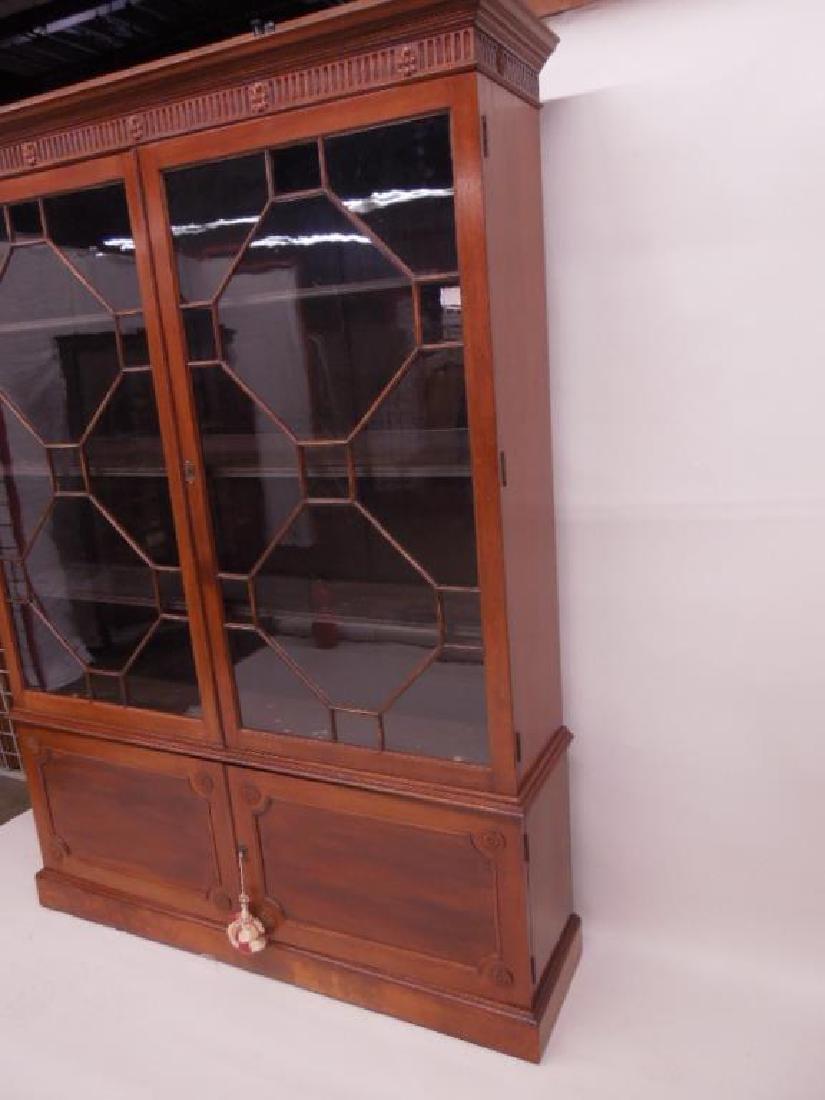 Antique Adam Neo Classical Bookcase / Cabinet - 5