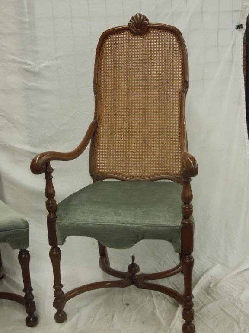 2 William & Mary Style Chairs - 3